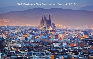 UPITec at SAP Business One Innovation Summit 2016 in Barcelona